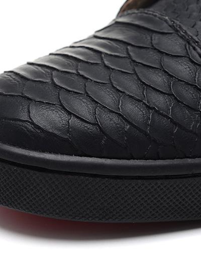 Milanoo / Zapatos de piel de carnero con ojal metal