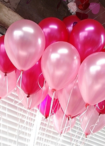 100-Piece Wedding Balloons фото