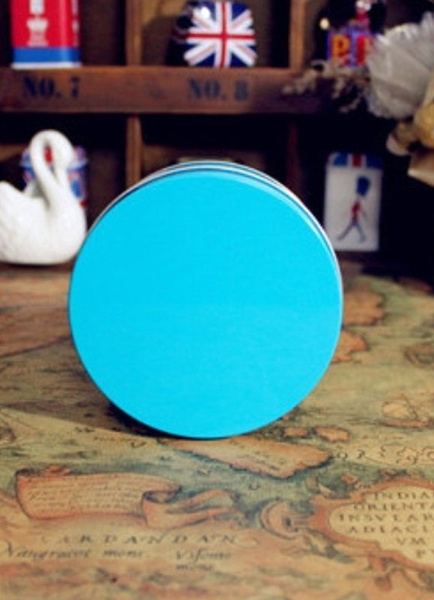 Candy Color Round Alloy Wedding Tins and Pails