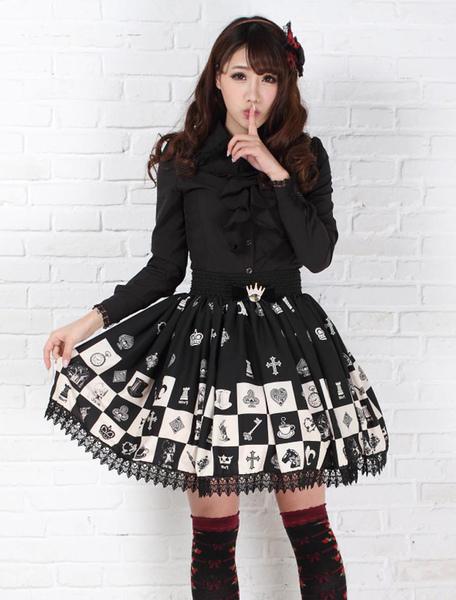 Vêtements Déguisements Jupe Lolita douce 2021 Alice In Wonderland SK Jupe Lolita Déguisements Halloween