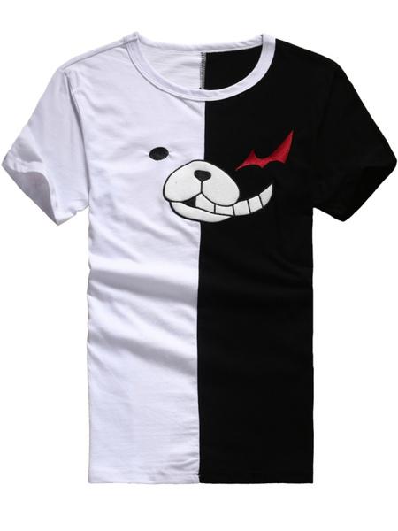 Danganronpa Monokuma Anime T-Shirts Milanoo