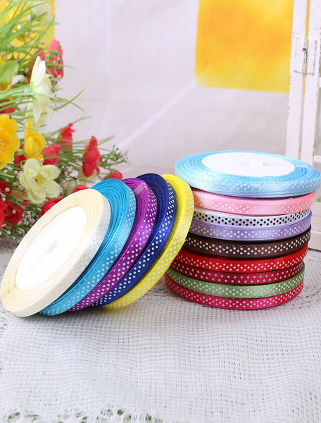 Image of 0.7cm Colored Ribbon for Wedding