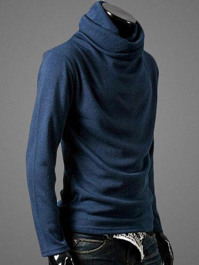 Milanoo / Herren Pullover mit Stehkragen
