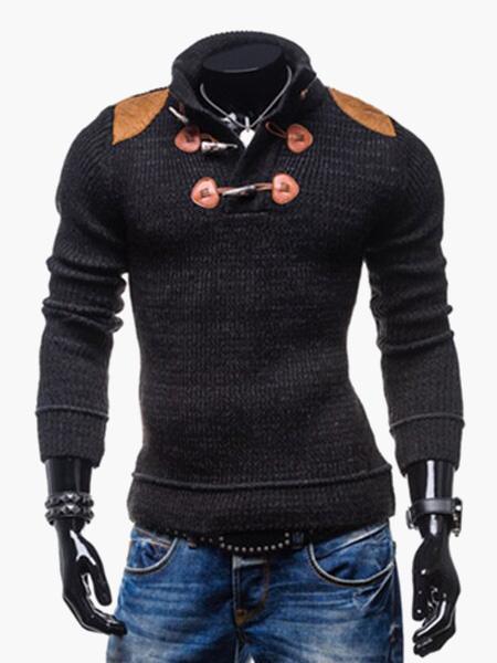 Knitware пуловер с длинным рукавом и тумблер в хлопковая смесь