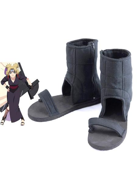 Naruto Temari Cosplay Shoes фото
