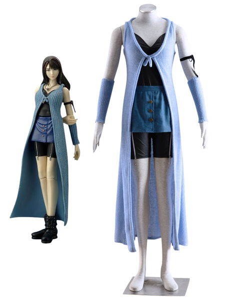 Final Fantasy Rinoa Heartilly Halloween Cosplay Costume Milanoo