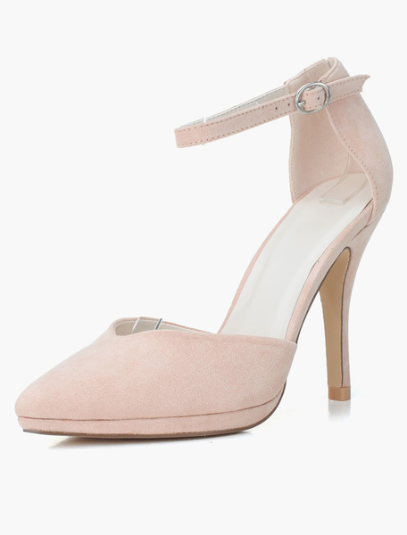 Micro Suede Upper Modern Pointy Toe Shoes фото