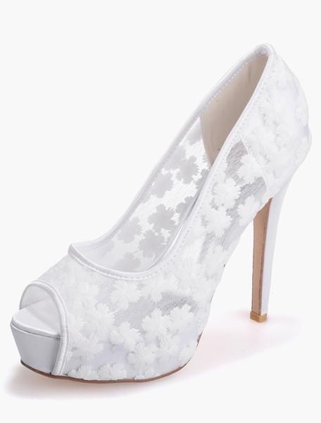 Lace Fabulous Women's Peep Toe Shoes фото