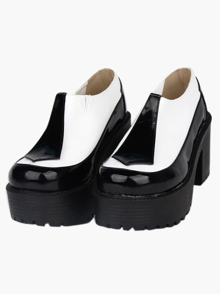 Round Toe Platform Great Lolita Shoes фото