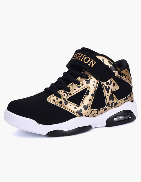 Lace Up Leopard Print PU Leather Sneakers For Women фото