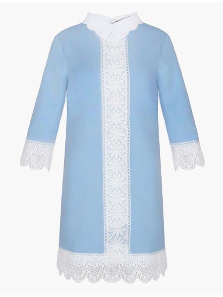 Milanoo / Vestido de tubo chifón cuello adornos manga larga dos tonos