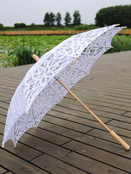 Halloween Beautiful Lace Parasol Costume Accessories фото