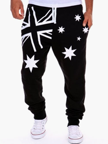 Men's Oversized Causal Pants фото