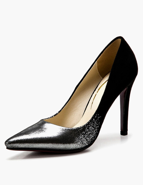 Printed Pointed Toe Pumps фото