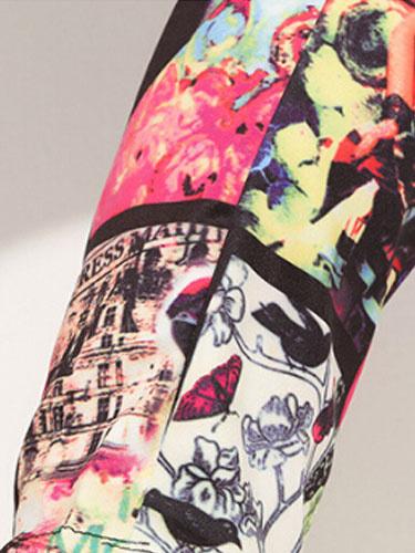 Milanoo / Harem Pants gedruckt