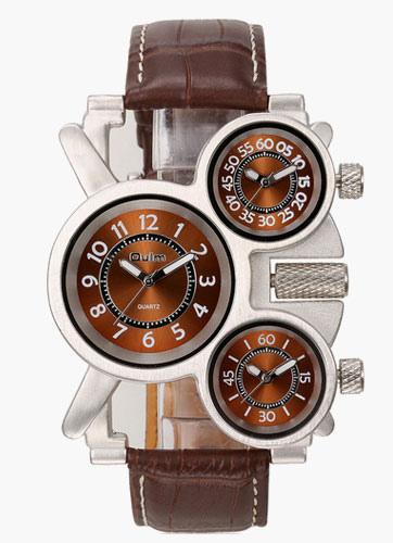 Мужская Браун сплава мода часы