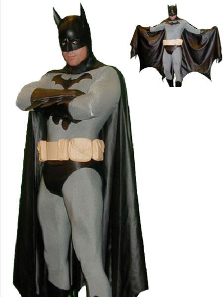 Halloween Multicolor Batman Costume Cosplay Unisex Lycra Spandex Zentai Suit Morphsuits фото