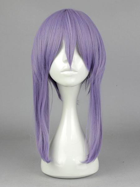 Purple Seraph of The End Anime Wig With Heat-resistant Fiber фото