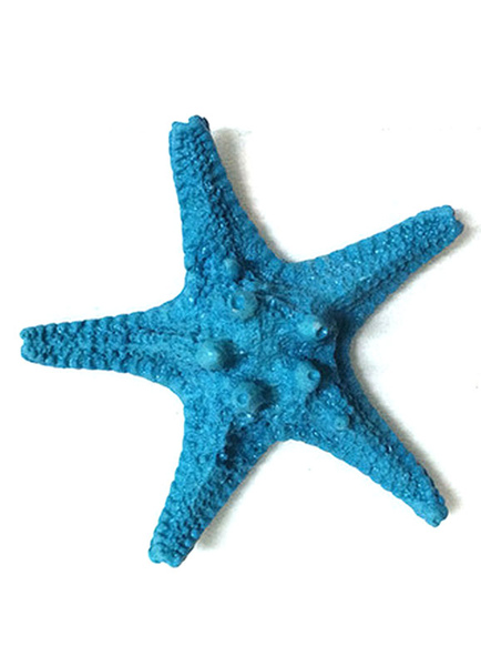 Image of Blue Beach Wedding decorazioni resina Starfish