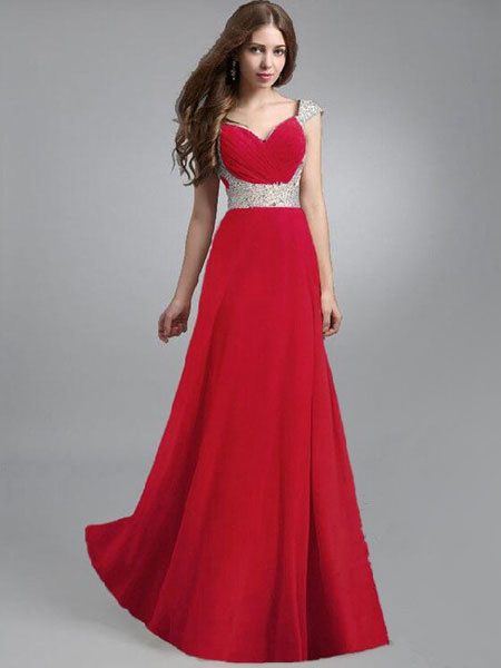 Sleeveless Chiffon High Rise Maxi Dress for Woman фото