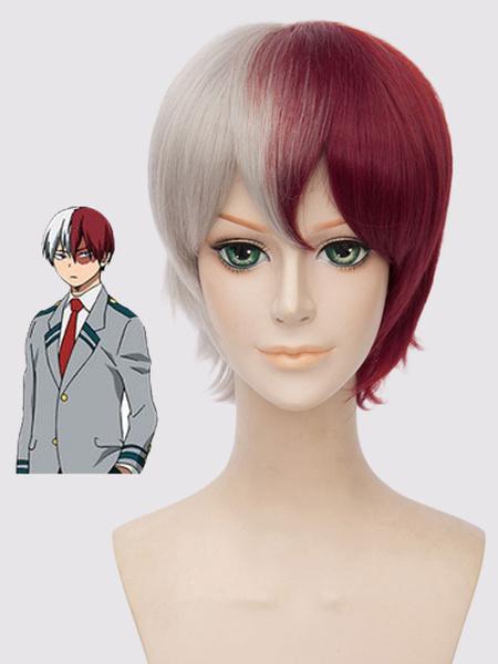 Boku No Hero Academia Boku No Hero Academia BNHA Todoroki Shouto Cosplay Wig Halloween
