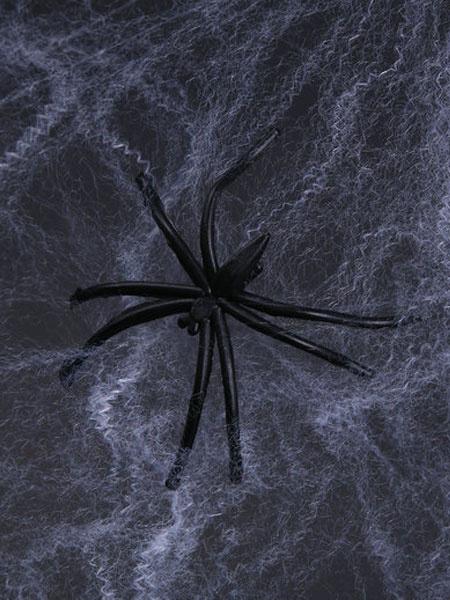 Halloween Spider Web Spider Cotton Decoration фото