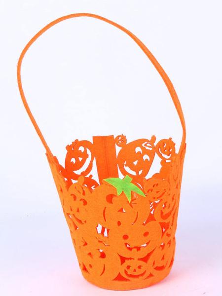 Halloween Non-woven Bag Pumpkin Candy Skull Bag фото