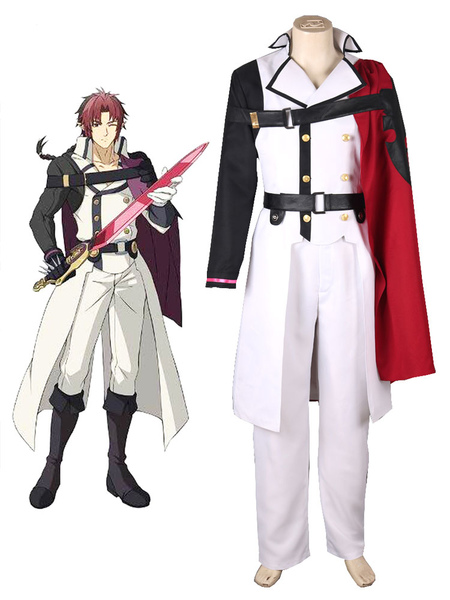 Seraph of the End Crowley Eusford Vampires Halloween Cosplay Costume фото