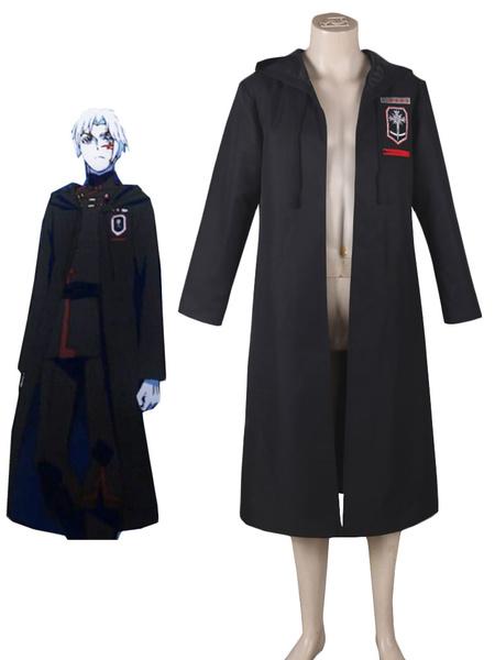D.Gray Man Halloween Allen Walker Cosplay Costume Black Order New Exorcists Uniform Overcoat Anime фото