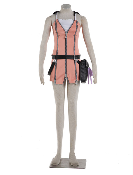 Kingdom Hearts Kairi Halloween Cosplay Costume фото