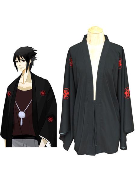 Naruto Shippuden Uchiha Sasuke Summer Kimono Anime Cosplay Costume