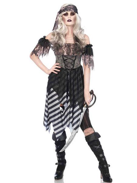 Women's Vampire Costume Holloween Tunic Dress Milanoo