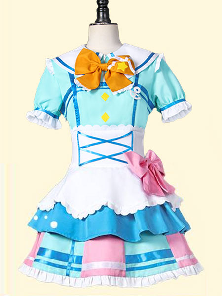 LoveLive!Sunshine!! Takami Chika Cosplay Costume Stage Outfit фото