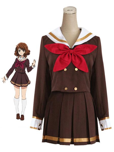 Sound! Euphonium Oumae Kumiko Cosplay Costume School Girl Uniform Milanoo