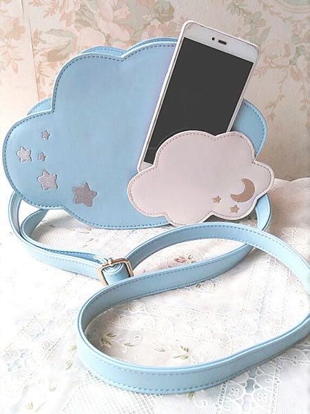 Sweet Lolita Handbag The Cloud In The Sky Blue Lolita Bag