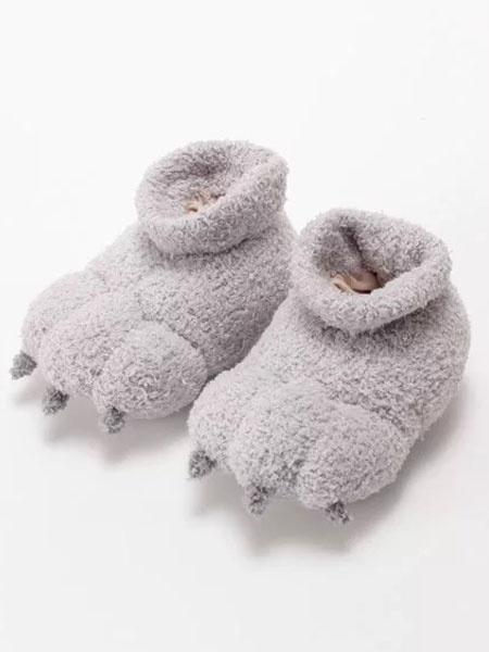 Kigurumi Пижамы Медведь Ползунки Белый Хлопок Коготь Тапочки Обувь Для Малышей