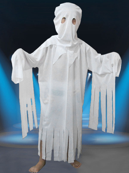 Halloween Ghost Costume White Zombie Mummy Costume For Kids фото