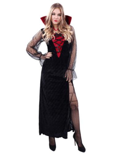 Gothic Vampire Halloween Costume For Women фото