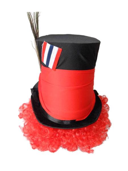 Halloween Alice In Wonderland Hat Costume Men's Top Hat Mad Hatter Cosplay Costume фото