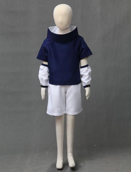 Naruto Uchiha Sasuke Halloween Cosplay Costume For Kid Milanoo