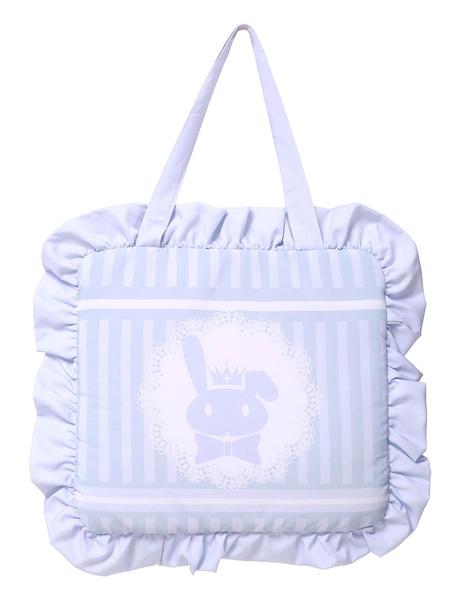 Sweet Lolita Bag Lilac Cute Bunny Printed Lolita Handbag фото