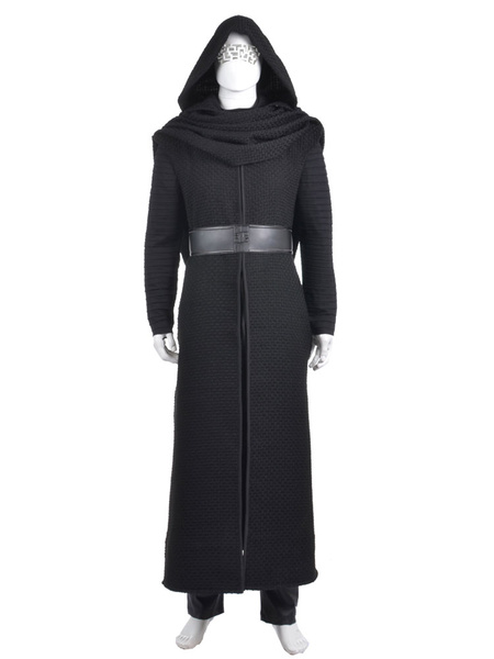 Star Wars: The Force Awakens Kylo Ren Ben Solo Halloween Cosplay Costume фото