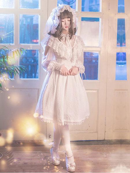 Lolita Wedding Dress White SK Neverland Lolita Skirt