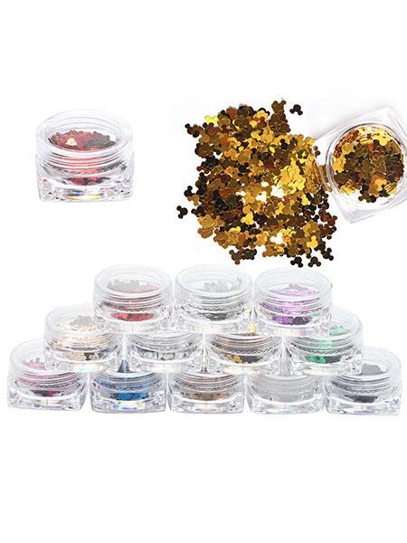 Lolita Eye Makeup Glitter Mickey Lolita Paillette Makeup 1 Set Of 12 Pcs Milanoo