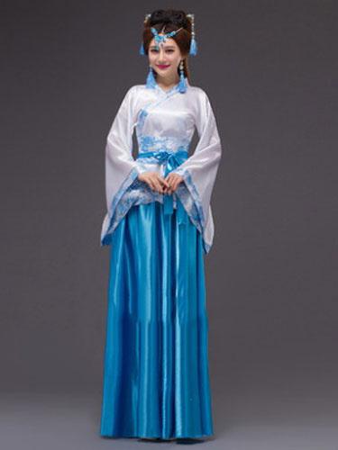 Women's Chinese Costume Halloween Ancient Queen Fancy Dress фото