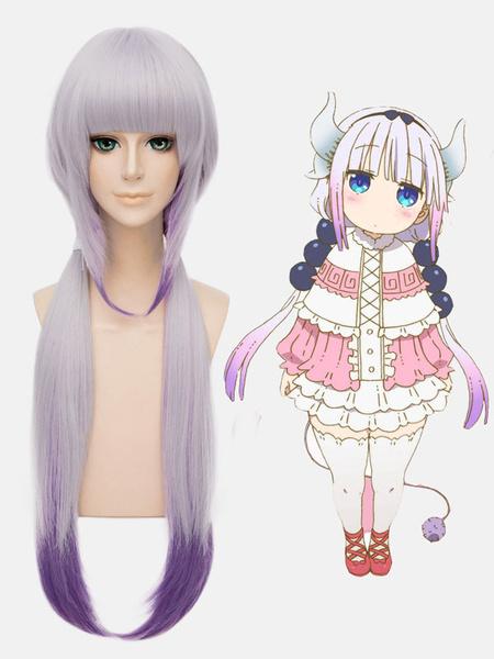 Miss Kobayashi's Dragon Maid Kanna Kamui Cosplay Wig фото