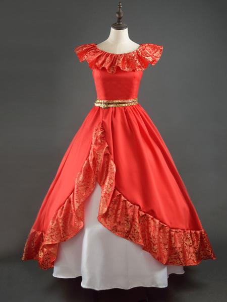 Disney Hua Mulan Halloween Cosplay Costume Chinese Style Dress Milanoo