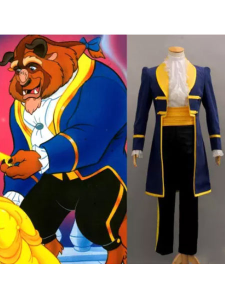 Beauty And The Beast Prince Cosplay Costume фото
