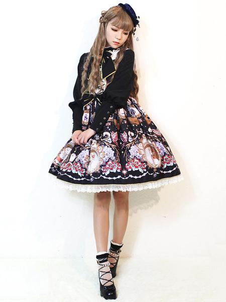 Classic Lolita Jsk Skirt Jumper Midnight Of Opera House Jsk