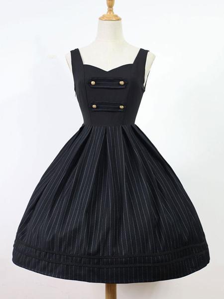 Classic Lolita Jsk Jumper Skirt The Magicians Academy Stripe Lolita Jsk фото